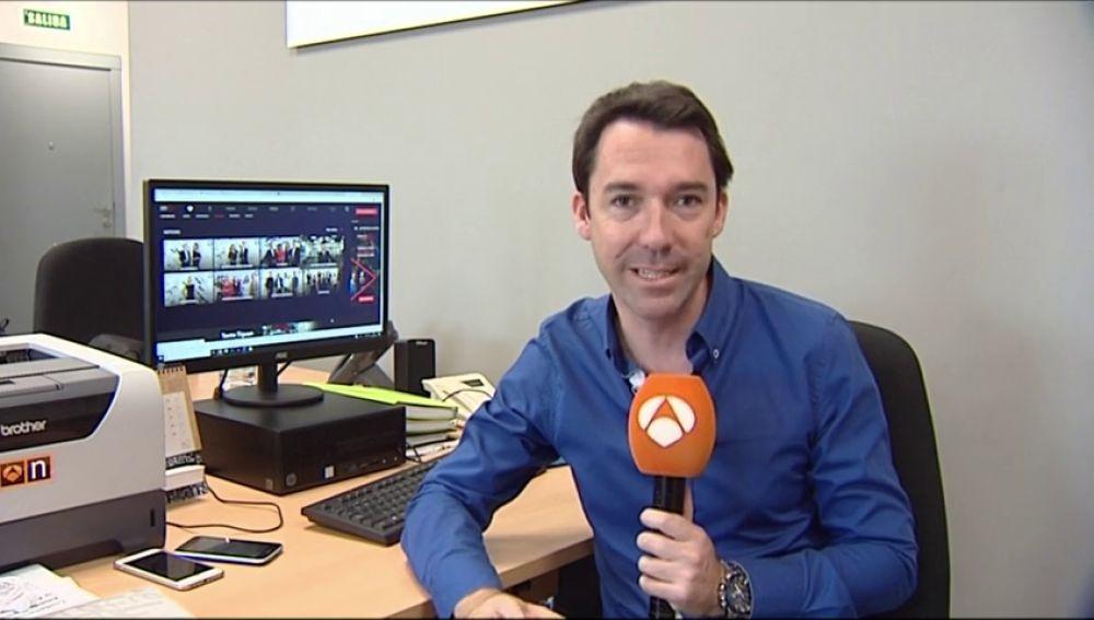 Joaquín Hernández explica qué es el 'Desk Challenge'