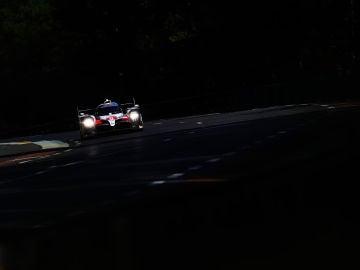 Fernando Alonso, durante la primera sesión de calificación de las 24 Horas de Le Mans
