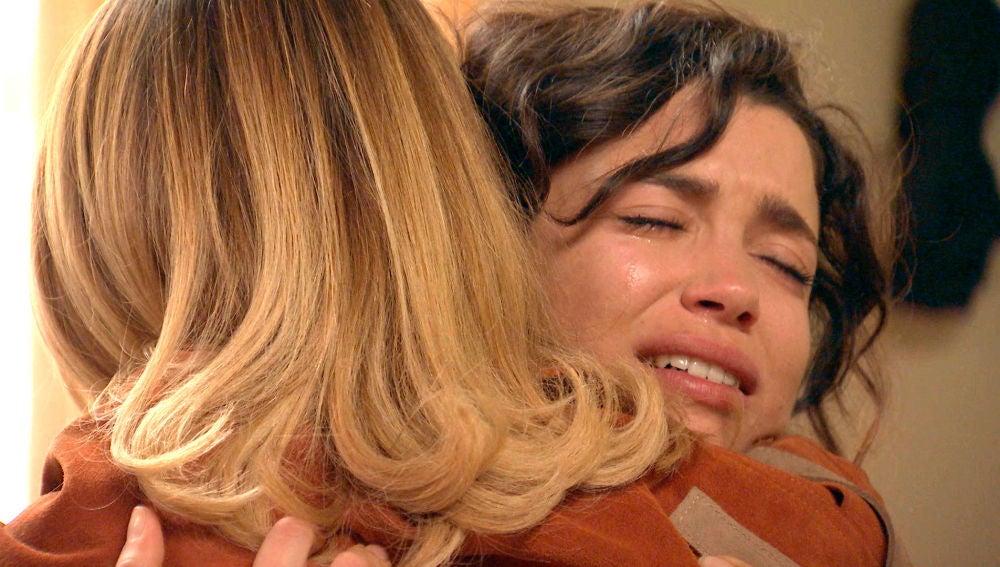 Luisita vuelve a tocar el corazón de Amelia