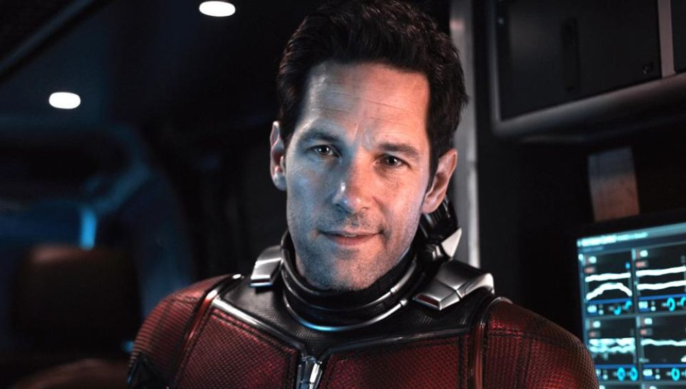 Paul Rudd como Scott Lang en 'Ant-Man'