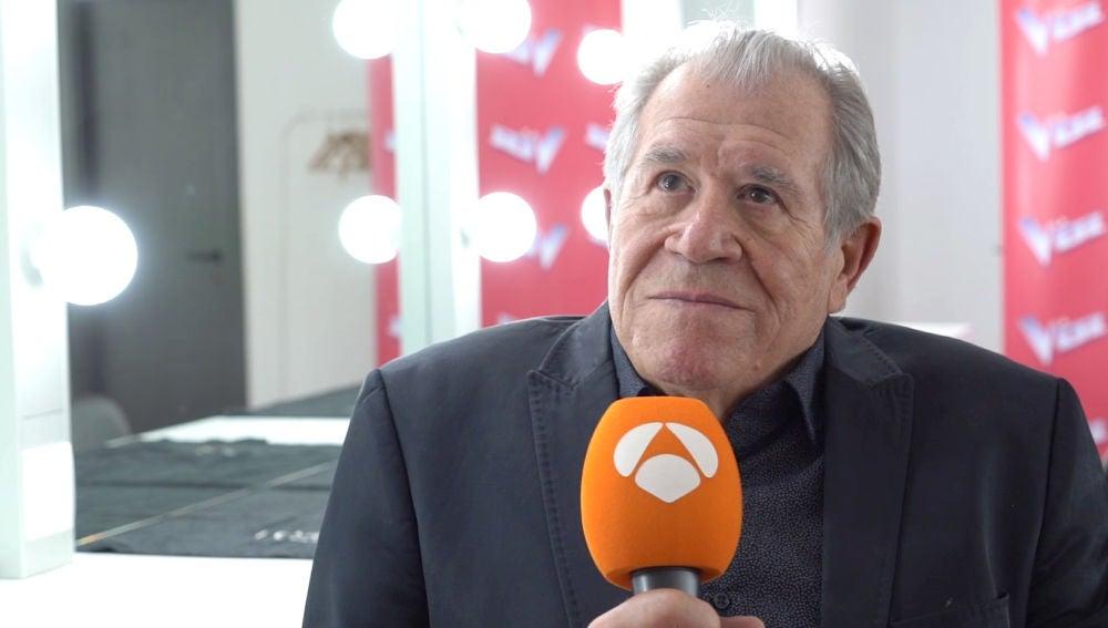 """Juan Mena: """"Antonio Orozco me ha dado una inyección de armonía, de musicalidad y apoyo"""""""