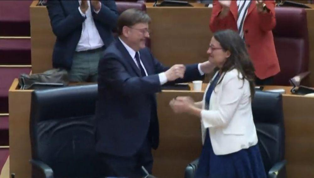 Ximo Puig, reelegido al frente del gobierno de coalición valenciano