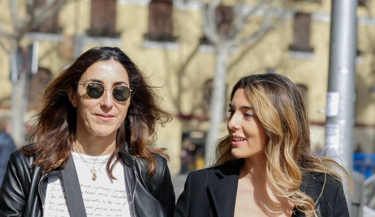 Paz Padilla y su hija Anna Ferrer