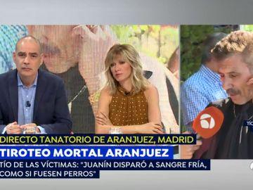 """El patriarca de la familia de las dos mujeres tiroteadas en Aranjuez: """"Disparó a sangre fría como un perro"""""""