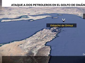 Atacados dos cargueros en el estrecho de Ormuz