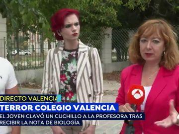 Agresión en un colegio de Valencia.
