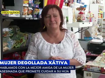 Mujer degollada en Xátiva.