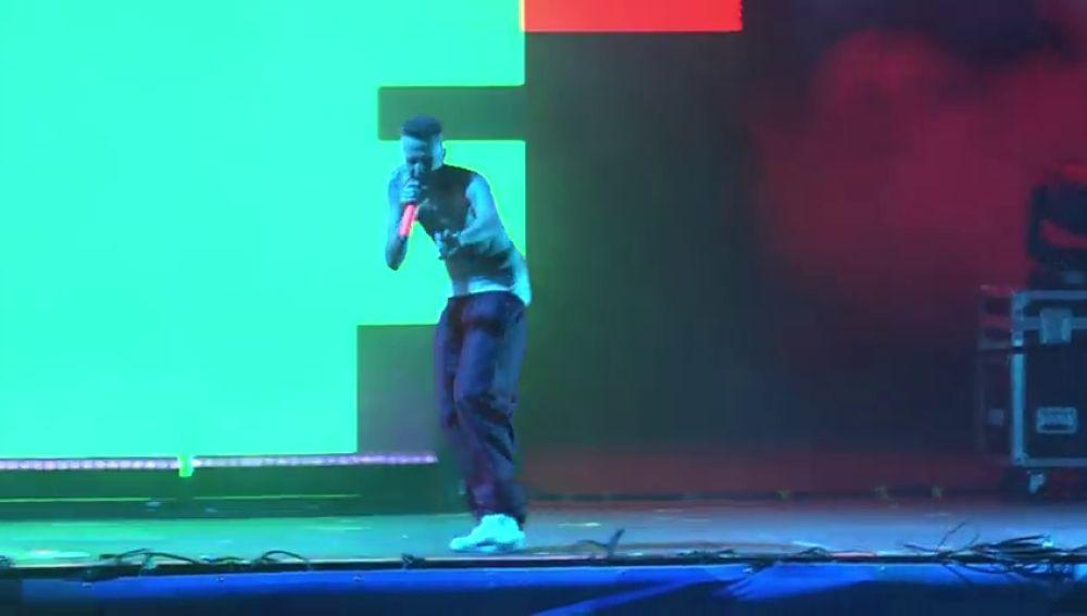 Die Antwoord actúa en el festival 'O Son do Camiño'
