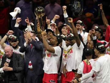 Los Toronto Raptors, campeones de la NBA 2019