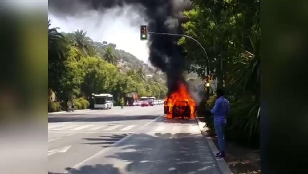 incendio en malaga