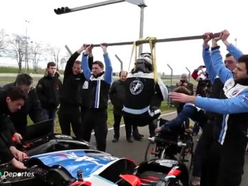 Le Mans sin barreras: la increíble historia del primer cuadramputado en completas las 24 horas