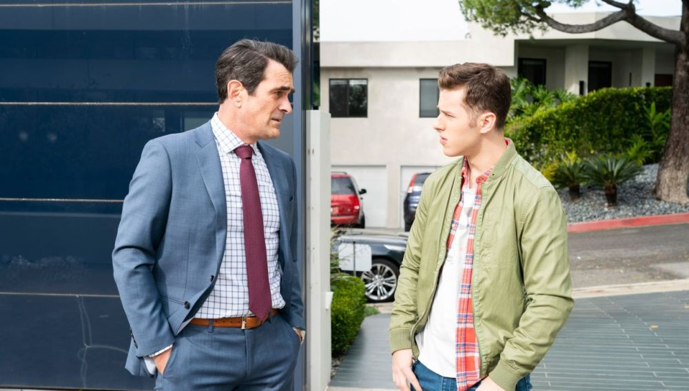 Phil y Luke Dunphy en 'Modern Family'