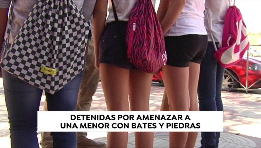 Detenidas cuatro chicas, tres de ellas menores, por amenazar a una compañera de instituto en Valencia