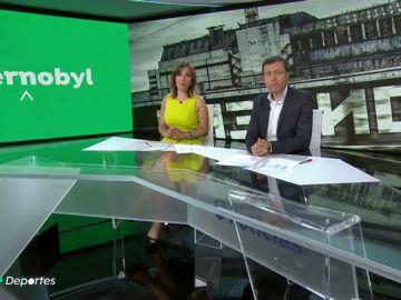 'Especial Chernóbil' en Antena 3 Deportes