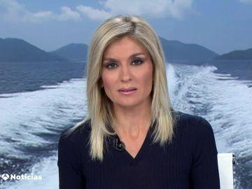 Sandra Golpe presentado Antena 3 Noticias 1