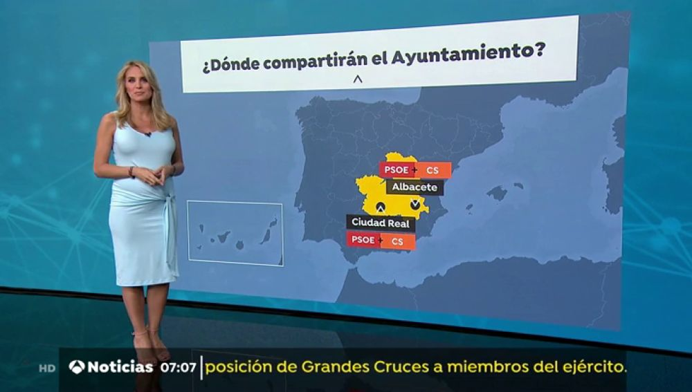 Madrid y Barcelona negocian  la constitución de los Ayuntamientos a horas previas de que termine el plazo