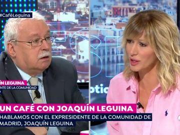 Un café con Joaquín Leguina.