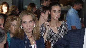 La infanta Elena y su hija Victoria Federica