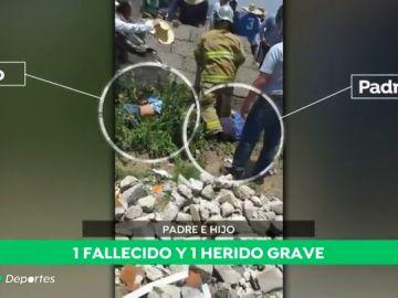 Un aficionado muere en un rally en México tras el brutal impacto de un coche contra un muro