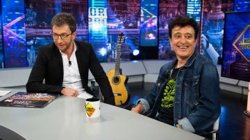 """Manolo García ironiza en 'El Hormiguero 3.0' con su energía: """"Ya sólo salgo de afterhour una vez a la semana"""""""
