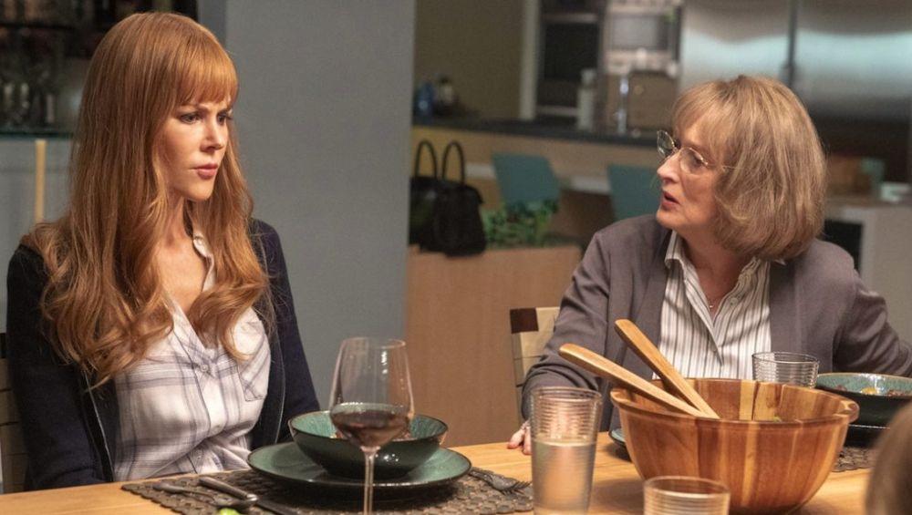 Nicole Kidman y Meryl Streep en 'Big Little Lies'
