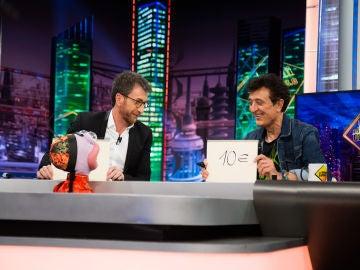 Trancas y Barrancas juegan con Manolo García a 'El plecio justo' en 'El Hormiguero 3.0'
