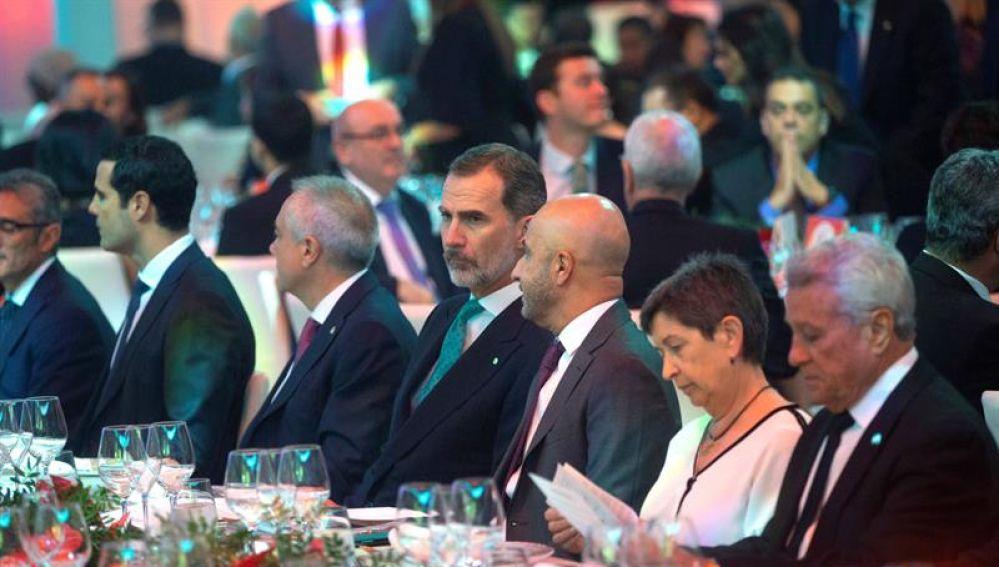 El Rey Felipe VI preside la cena de 'La Nit de la Logística'