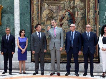 El rey Felipe VI en Barcelona