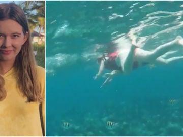 Un tiburón la mata en Bahamas
