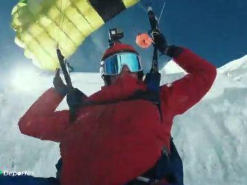 Récord mundial en un espectacular salto base desde lo alto del Mont Blanc