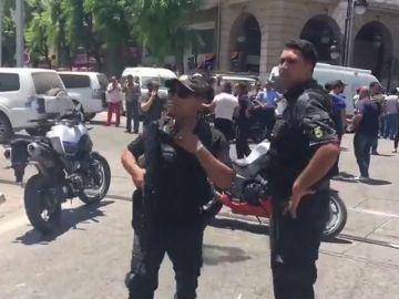 Al menos nueve heridos al estallar un artefacto en el centro de Túnez capital