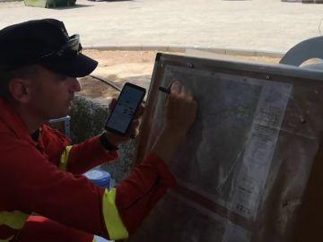 Así trabaja la UME en el incendio de Ribera d'Ebre