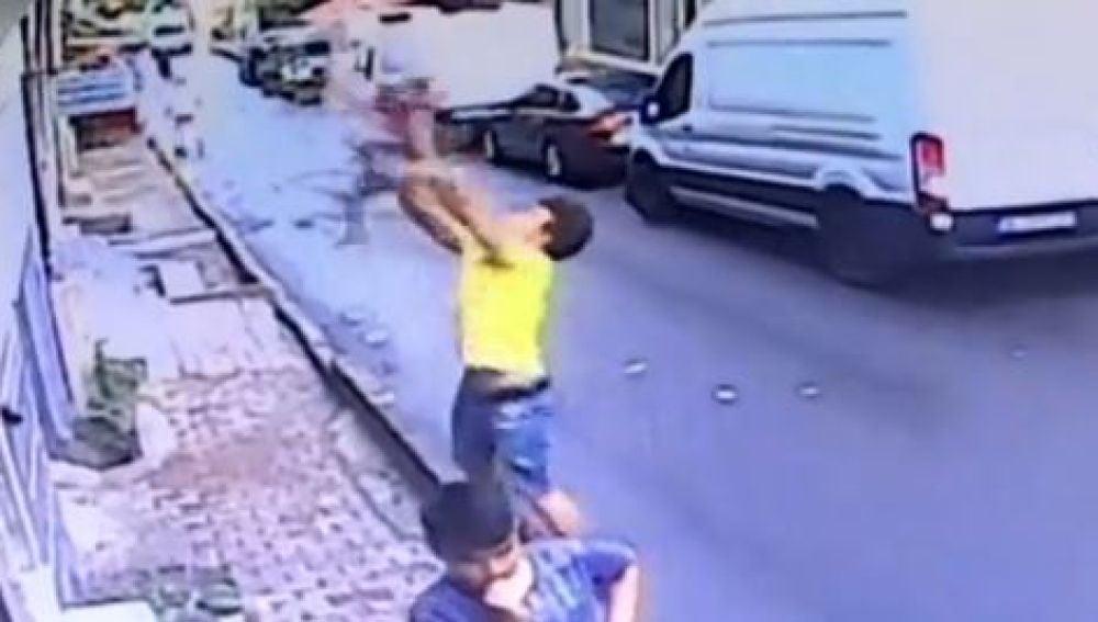 Rescate en Estambul.