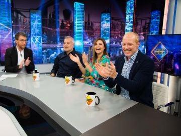 Tino, Yolanda y Frank revelan en 'El Hormiguero 3.0' cómo ha sido el reencuentro del grupo Parchís