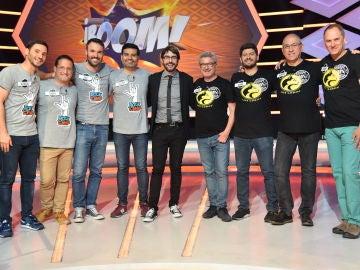 Los 'Rockcampers' se convierten en el segundo equipo, tras las 'Extremis', que logra ganar a 'Los Lobos' en '¡Boom!'