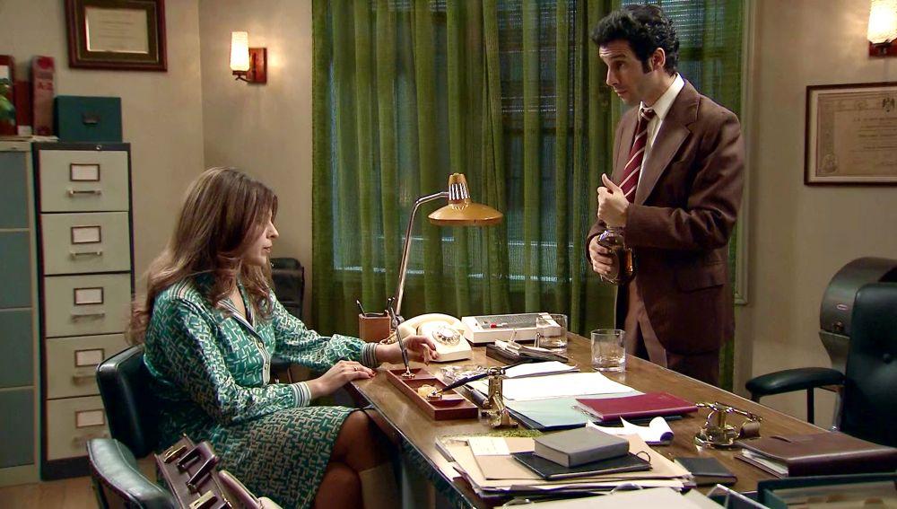 Nuria confiesa a Ignacio sus problemas con Jaime