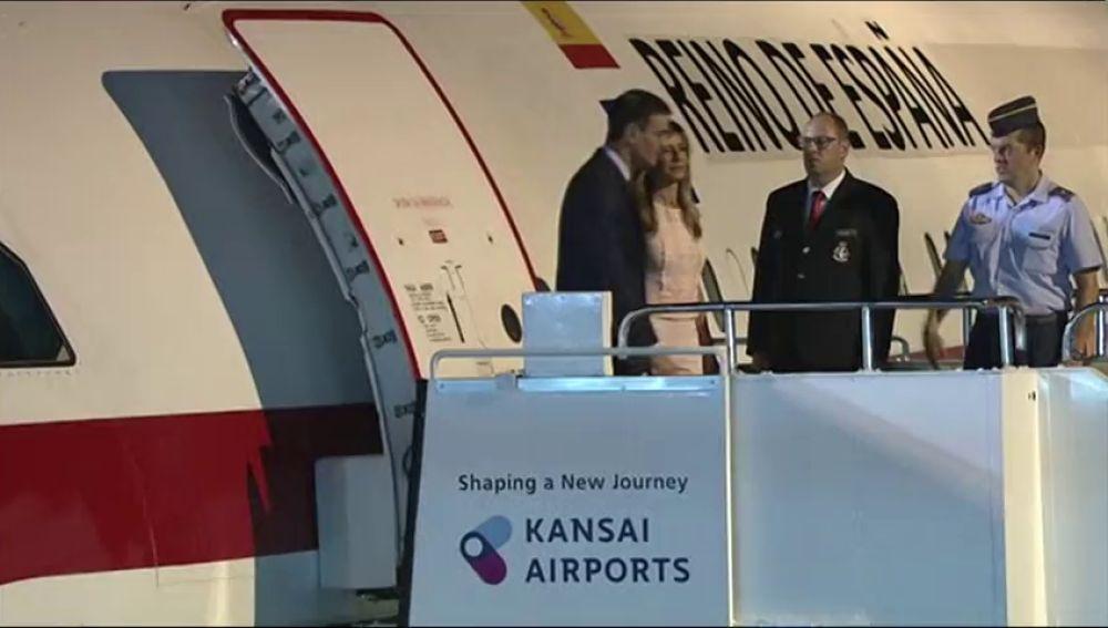 Sánchez llega a la cumbre del G-20 en Osaka
