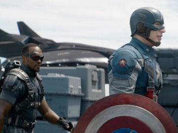 Falcon y Capitán América
