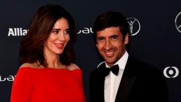 Raúl González y Mamen Sanz