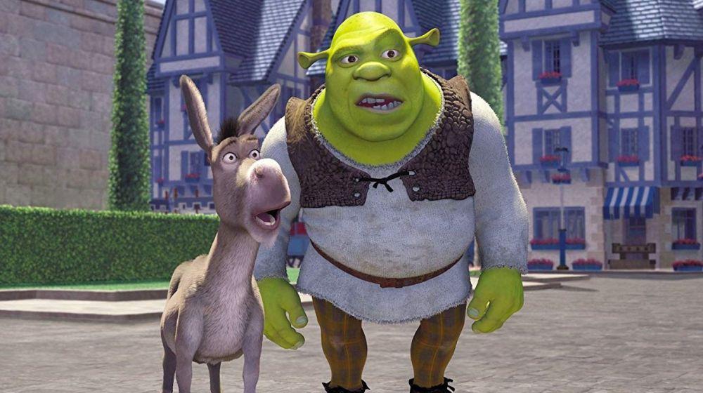 Asno y Shrek