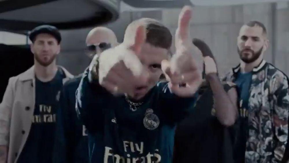 El Madrid presenta la segunda equipación a ritmo de Trap