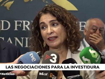 El gobierno advierte a Podemos: igual no hay segunda votación
