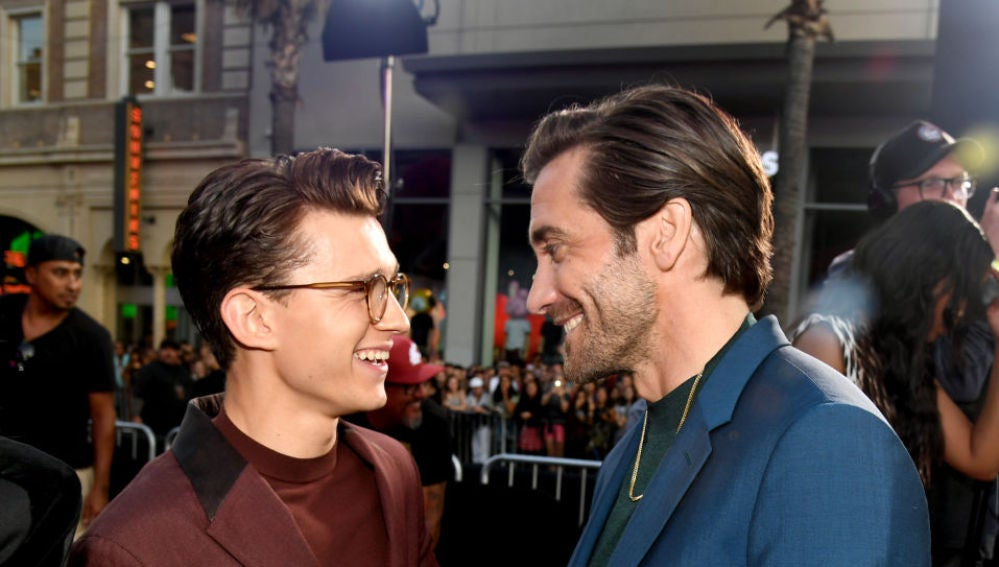 Tom Holland y Jake Gyllenhaal, pura complicidad