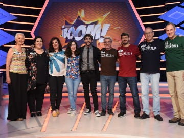 'Los Lobos', ganadores en un inolvidable programa contra las 'Extremis' en '¡Boom!'