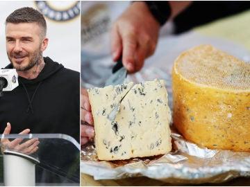 Un queso hecho... con las bacterias de los pies de Beckham