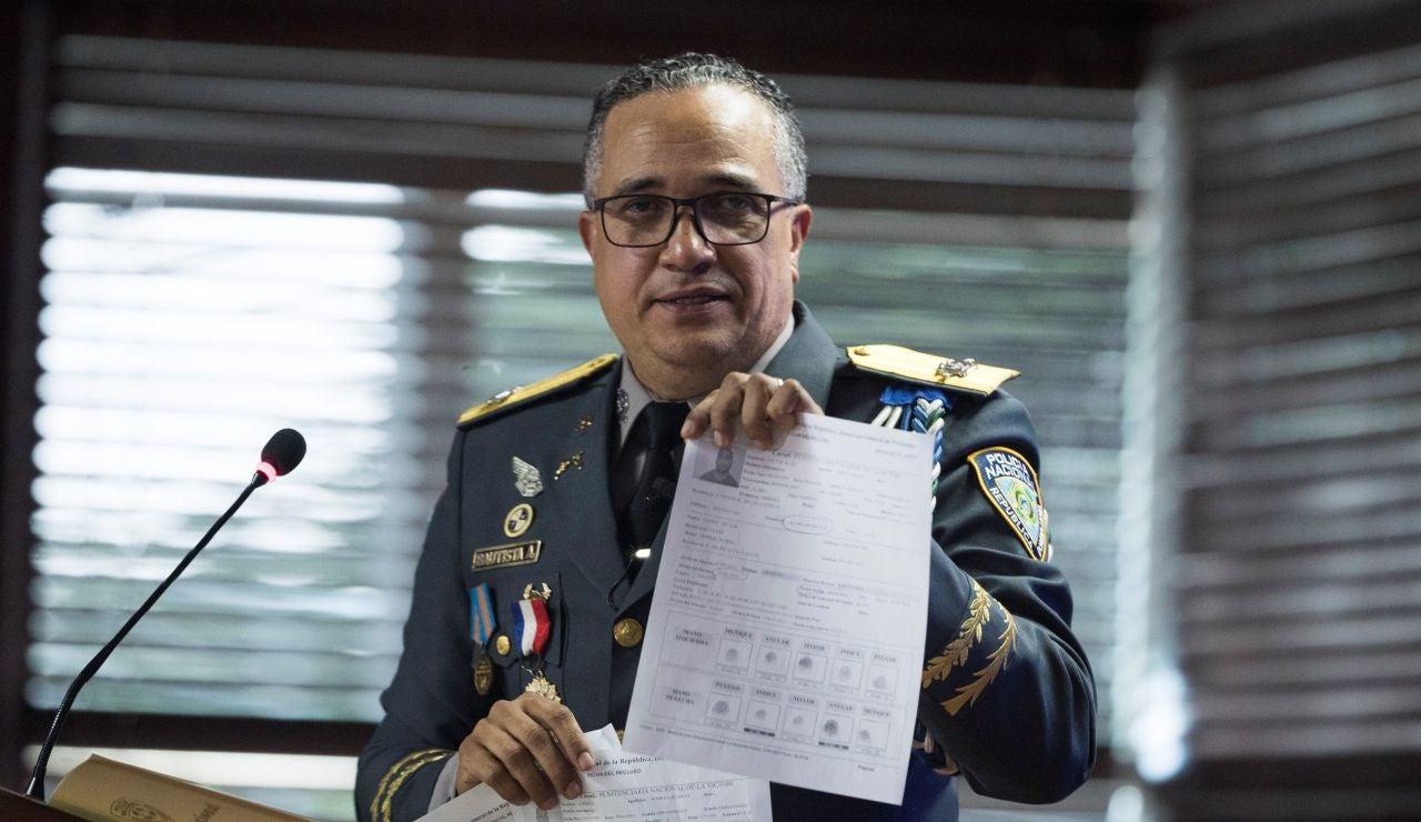 El director de la Policía Nacional Dominicana, Ney Aldrin Bautista Almonte, ofrece detalles sobre el ataque a David Ortiz