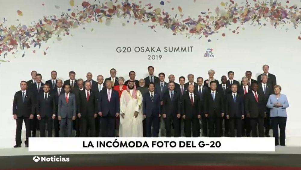 Los gestos del G20: desde la incómoda foto de familia hasta las formas de Trump