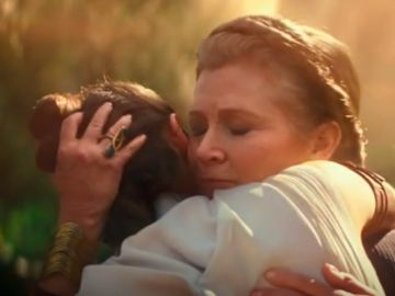 Carrie Fisher y Daisy Ridley en 'Star Wars: The Rise of Skywalker'