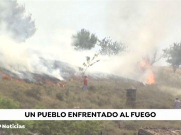 La angustiosa lucha contra el fuego de los vecinos de Remelluri