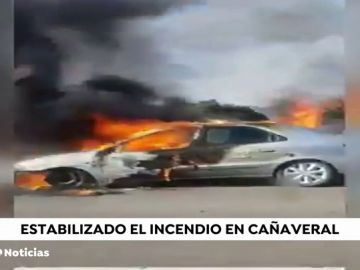Incendio en Cañaveral